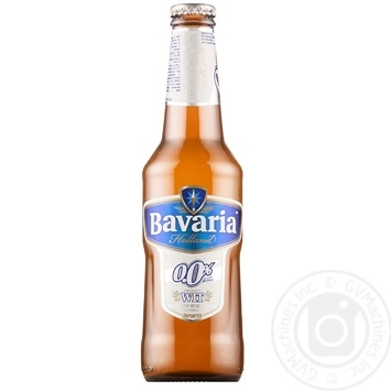 Пиво Bavaria светлое 0% 0,33л Нидерланды - купить, цены на Метро - фото 1