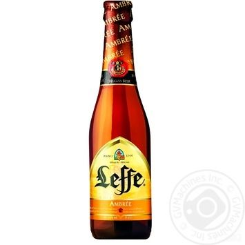 Leffe Ambree Beer 6,6% 0,33l - buy, prices for Auchan - photo 1