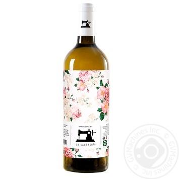 Вино La Sastreria Garnacha белое сухое 0,75л - купить, цены на Метро - фото 1