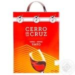 Вино Cerro de la Cruz Tinto Seco красное сухое 11% 5л