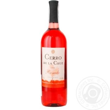 Вино Cerrо de la Cruz Rosado розовое сухое 11% 0,75л