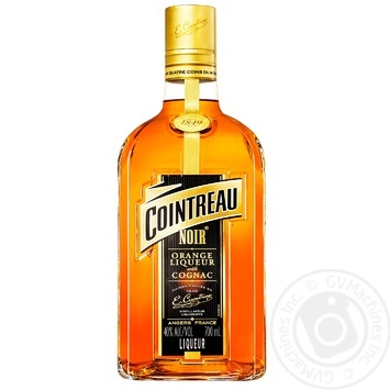 Лікер Cointreau Noir Orange&Cognac 40% 0,7л - купити, ціни на Novus - фото 1