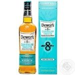 Виски Dewar`s Carribean smooth 8 years 40% 0,7л