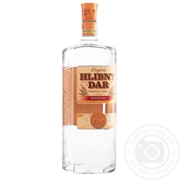 Khlibnyy dar Classic vodka 40% 1l - buy, prices for Novus - image 1