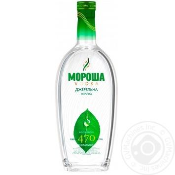 Водка Мороша Родниковая 1л - купить, цены на Novus - фото 1
