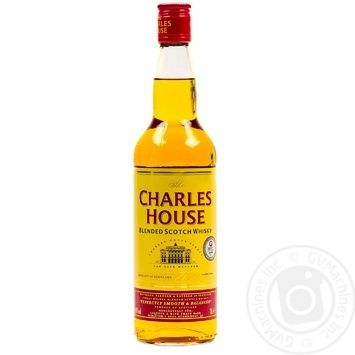Charles house Whiskey 3y.o. 40% 0,7l