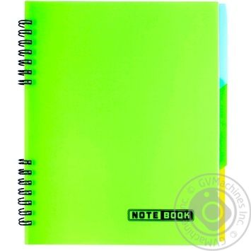 EconoMix А5 Notepad with color dividers 120 sheets - buy, prices for Metro - image 8