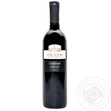 Вино Badagoni Саперави красное сухое 13% 0,75л