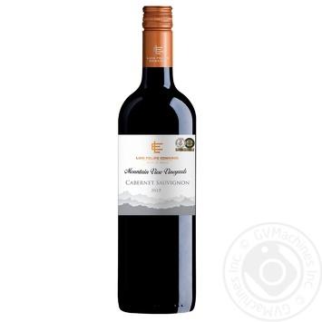 Вино Luis Felipe Edwards Каберне Совиньон красное сухое 13% 0,75л - купить, цены на Фуршет - фото 1