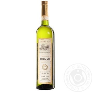 Kartuli Vazi Tsinandali Wine white dry 12% 0,75l