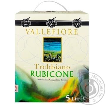 Vallefiore Trebbiano Rubicone Wine white dry 11% 5l