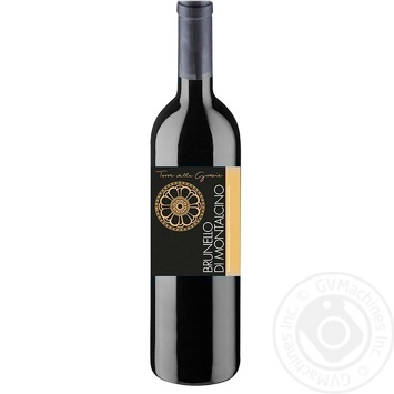Вино Grazie Brunello di moltalcino красное сухое 14% 0,75л