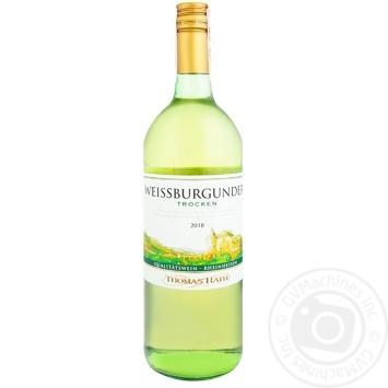 Вино Thomas Rath Weissburgunder белое сухое 11,5% 1л