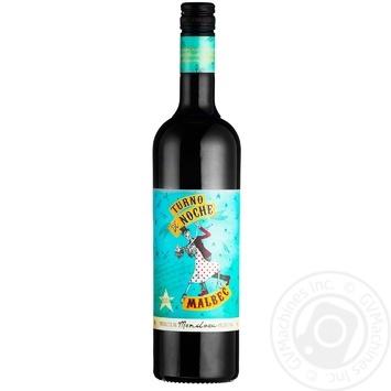 Вино Boutinot Turno de Noche Malbec красное сухое 0,75л