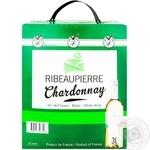 Ribeaupierre Chardonnay Wine white dry tetrapack 13% 3l