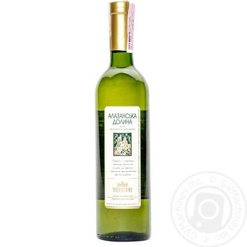 Вино Vardiani Алазанська долина біле напівсолодке 9-13% 0,75л - купити, ціни на Novus - фото 1