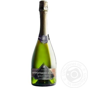 Вино игристое Французский бульвар Special edition белое полусухое 12.5% 0,75л