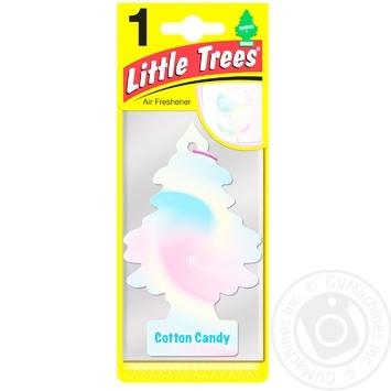 Освежитель воздуха Little Trees Cotton Candy для автомобиля - купить, цены на Таврия В - фото 1