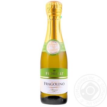 Вино игристое Fiorelli Fragolino Bianco белое полусладкое 7% 0,2л - купить, цены на Novus - фото 1