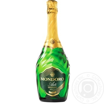 Вино игристое Mondoro Asti белое сладкое 7,5% 0,75л - купить, цены на Ашан - фото 1