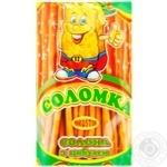 Соломка солона з цибулею 40г - купити, ціни на Метро - фото 1