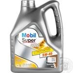 Mobil Super3000 5W-40 Oil 4l
