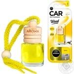 Ароматизатор Aroma Car Wood ваниль 6мл - купить, цены на Таврия В - фото 1