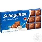 Шоколад Schogеtten молочний альпійський 100г - купити, ціни на Novus - фото 1