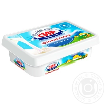 Bilocerkivskiy Philadelphia Cream-Cheese 60% 180g
