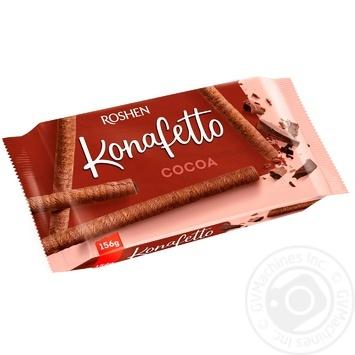 Трубочки Рошен Konafetto какао 156г