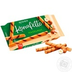 Roshen Konafetto with filled nuts waffle rolls 156g