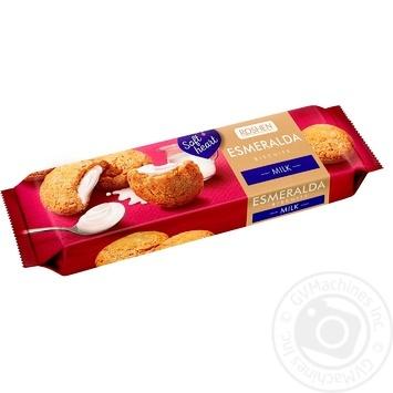 Roshen Esmeralda milk cookies 170g