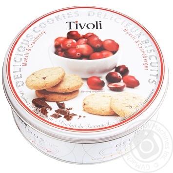 Печенье Tivoli клюквенное 150г