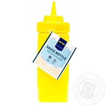 Ёмкость Metro Professional  для кетчупа желтая 490мл