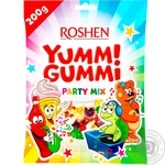 Конфеты Roshen Yummi Gummi Party mix 200г