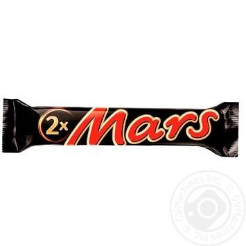 Батончик Mars c нугой и карамелью 70г - купить, цены на Фуршет - фото 1