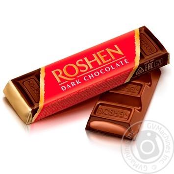 Батончик Roshen шоколадний з помадно-шоколадною начинкою 43г - купити, ціни на МегаМаркет - фото 1