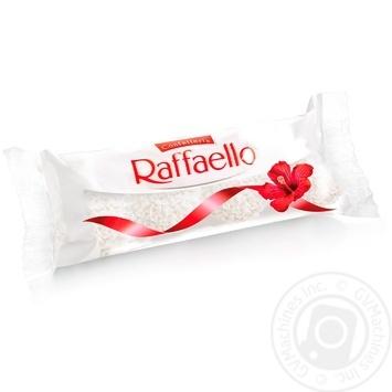 Конфеты Raffaello хрустящие 40г - купить, цены на Восторг - фото 1