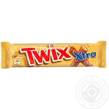 Батончик Twix в молочном шоколаде 75г - купить, цены на СитиМаркет - фото 1