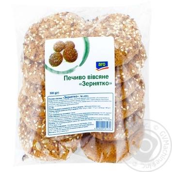 Печиво Аro вівсяне зернятко 300г - купити, ціни на Метро - фото 1