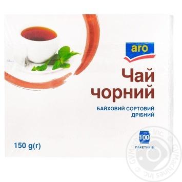 Чай Aro черный байховый мелкий 100пак