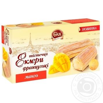 Пирожные эклеры БКК Французские манго 330г