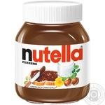 Ореховая паста с какао Nutella 630г