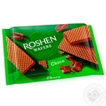 Roshen chocolate waffles 72g - buy, prices for Novus - image 1