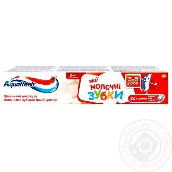 Зубная паста Aquafresh Мои молочные зубки 50мл - купить, цены на Novus - фото 1