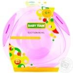 Тарелка Baby Team на присоске 280мл