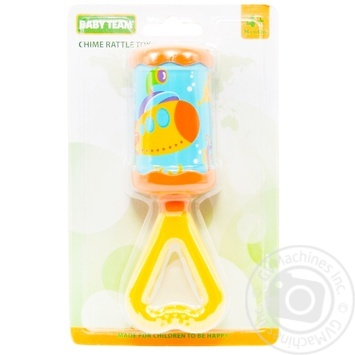 Игрушка-погремушка Baby Team Звонкая забава - купить, цены на Novus - фото 1