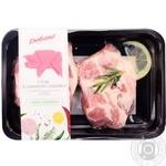Стейк Глобино со свиного ошейка порционный охлажденный