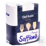 Бумажные полотенца Soffio трехслойные 2 рулона