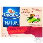 Vegeta Natur beef broth in cubes 6pcs 60g